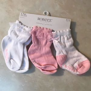 Baby girl Robeez socks